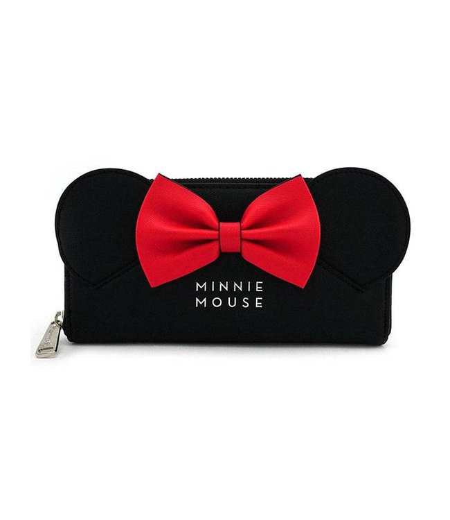 Loungefly Loungefly Disney | Minnie (Ears & Bow) Geldbeutel