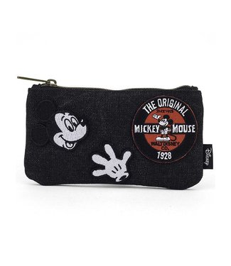 Loungefly Loungefly Disney | Mickey Mouse (Denim) Kosmetiktasche