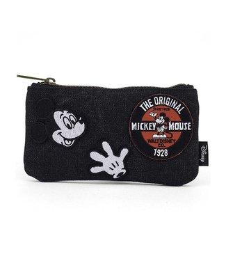 Loungefly Loungefly Disney   Mickey Mouse (Denim) Kosmetiktasche