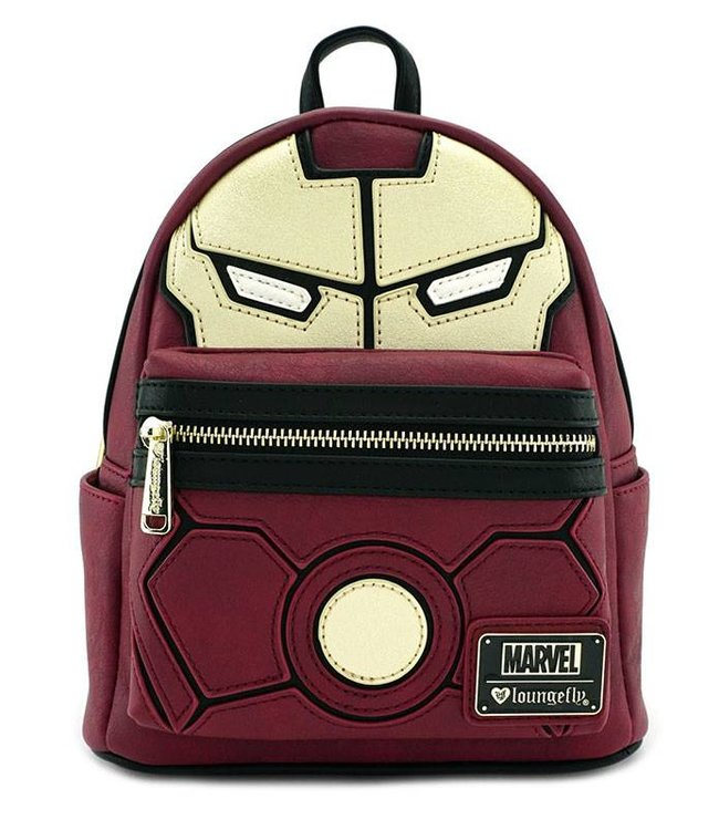 Loungefly Loungefly Marvel | Iron Man (Cosplay) Mini Rucksack