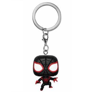Funko Animated Spider-Man | Miles Morales Funko Pop Schlüsselanhänger