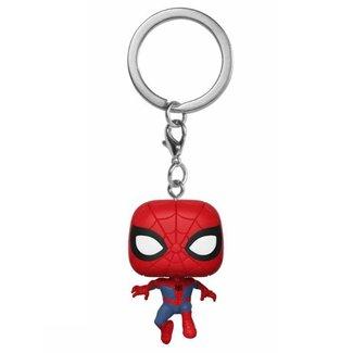 Funko Animated Spider-Man | Peter Parker Funko Pop Schlüsselanhänger