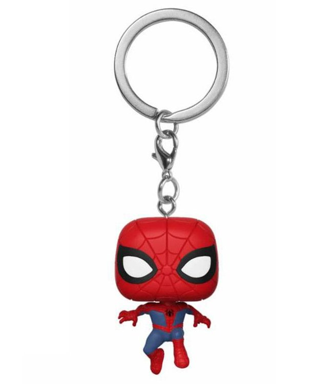 Funko Animated Spider-Man | Peter Parker Funko Pop Schlüsselanhänger