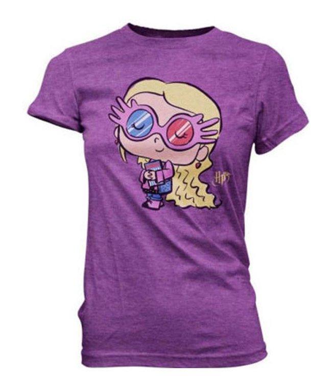 Funko Harry Potter | Luna Lovegood Funko Pop Tees Girlie T-Shirt (Größe S)