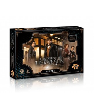 Winning Moves Fantastic Beasts | New York Puzzle