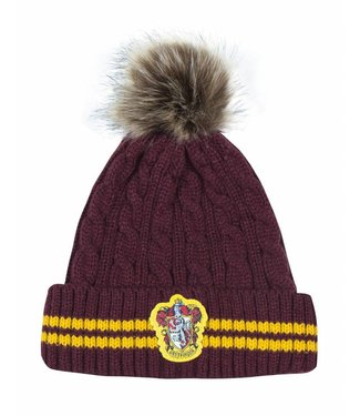 Cinereplicas Harry Potter | Pom-Pom Beanie Gryffindor