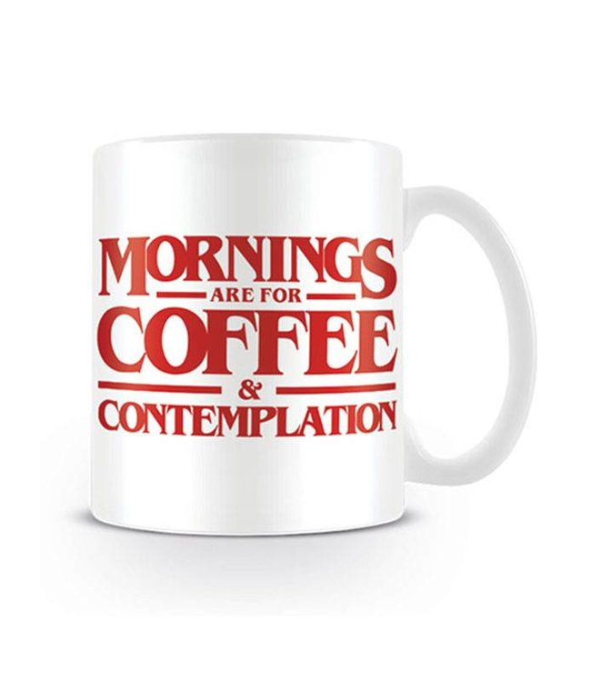 Pyramid International Stranger Things | Coffee and Contemplation Tasse