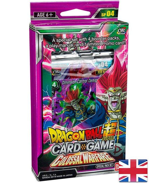 Bandai Dragonball Super | Colossal Warfare Special Pack