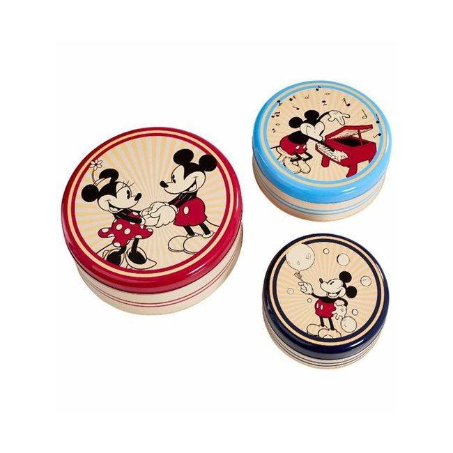 Funko Funko Homeware | Mickey Mouse Aufbewahrungsdosen (Rund) 3er-Set