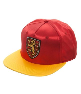 Harry Potter Harry Potter | Gryffindor Satin Snapback Cap