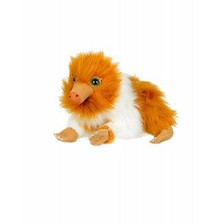 The Noble Collection Fantastic Beasts | Baby Niffler Plüschfigur (Braun & Weiß)
