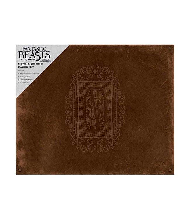 Insight Editions Fantastic Beasts | Newt Scamander Deluxe Schreibwaren Set