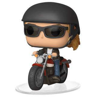 Funko Captain Marvel | Carol Danvers on Motorcycle Funko Pop Rides Figur
