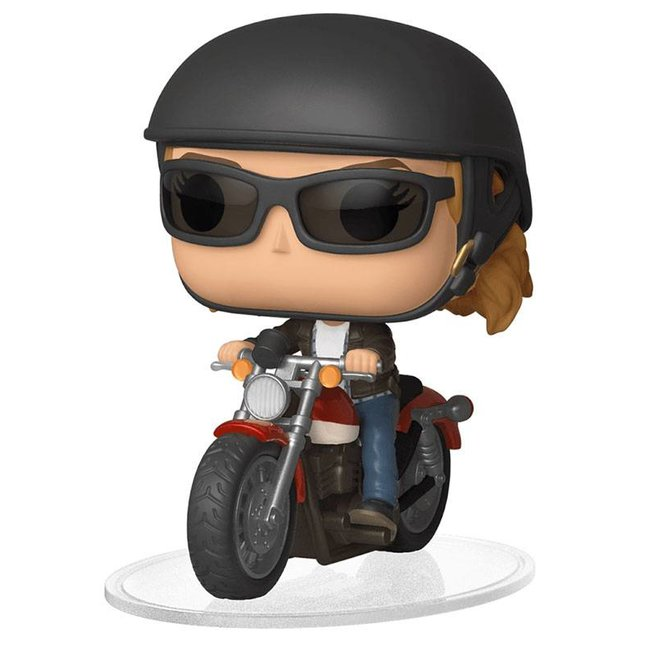 Funko Captain Marvel | Carol Danvers on Motorcycle Funko Pop Rides Figur