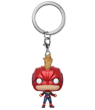 Funko Captain Marvel | Captain Marvel (Helmet) Funko Pop Schlüsselanhänger