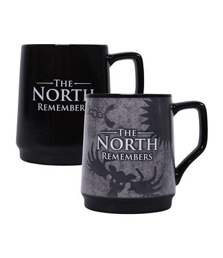 Half Moon Bay Game of Thrones | The North Remembers Tasse (Thermoeffekt)