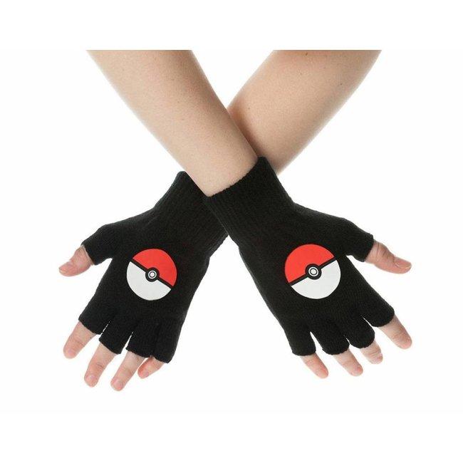 Pokémon Pokemon | Pokeball Handschuhe (Fingerlos)