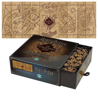 The Noble Collection Harry Potter | Marauders Map Premium Puzzle