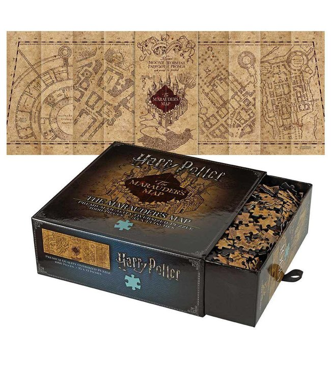 Harry Potter | Marauders Map Premium Puzzle - Stuffbringer on