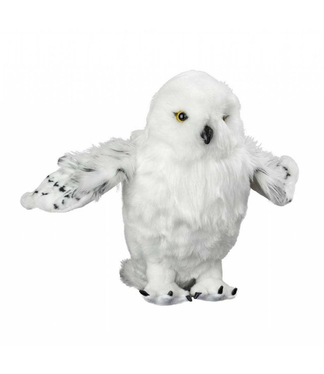 The Noble Collection Harry Potter | Hedwig Deluxe Plüschfigur