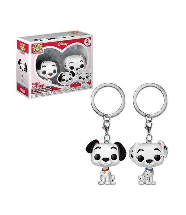 Funko Disney | Pongo & Perdita Funko Pop Keychain Figuren