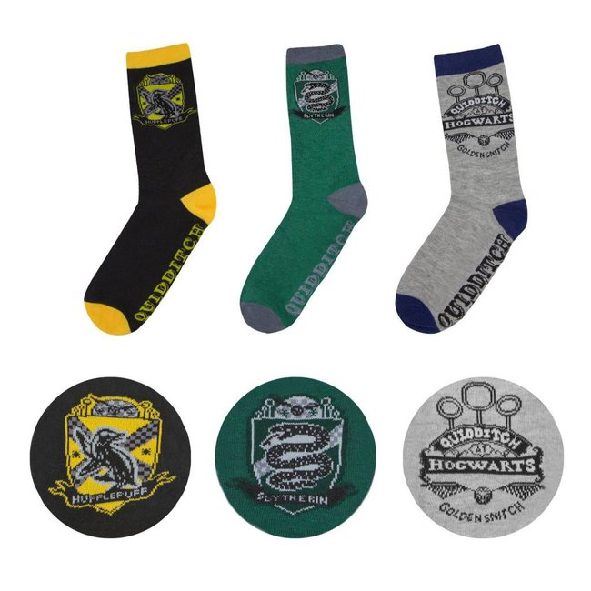 Harry Potter Harry Potter | Quidditch Socken 3er Pack