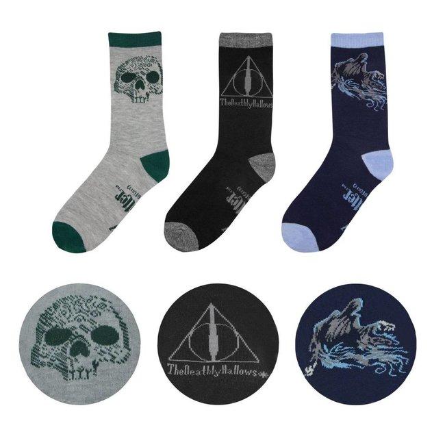 Harry Potter Harry Potter | Deathly Hallows Socken 3er Pack