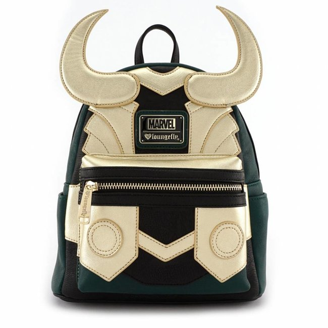 Loungefly Loungefly Marvel | Loki (Cosplay) Mini Rucksack