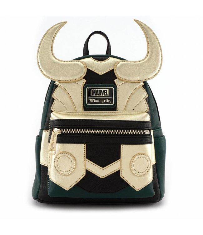 Loungefly Loungefly Marvel | Loki (Cosplay) Mini Rucksack