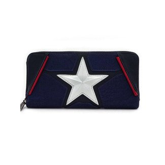 Loungefly Loungefly Marvel | Captain America Geldbeutel