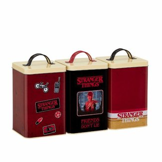 Funko Funko Homeware | Stranger Things Aufbewahrungsdosen (Retro) 3er-Set