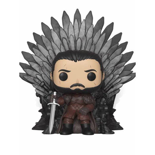 Funko Game of Thrones | Jon Snow (Iron Throne) Funko Pop Deluxe Vinyl Figur