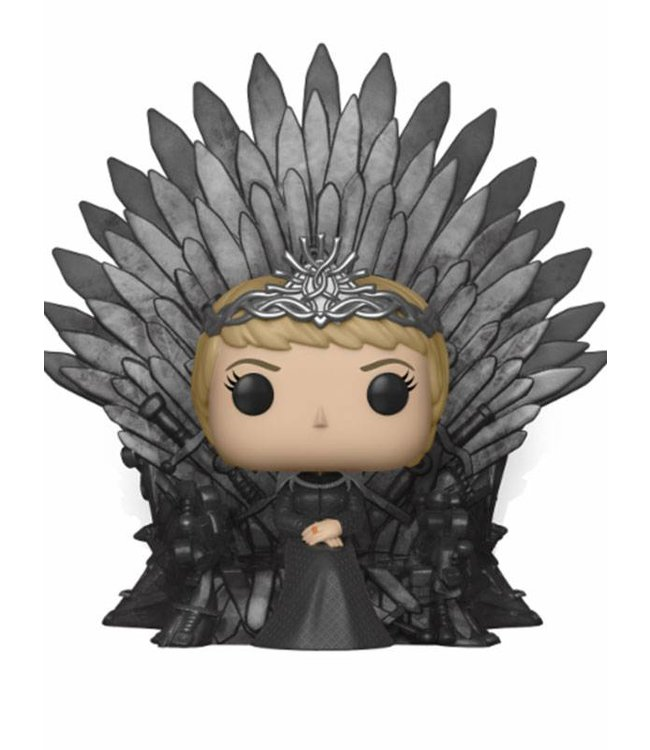 Funko Game of Thrones | Cersei (Iron Throne) Funko Pop Deluxe Vinyl Figur