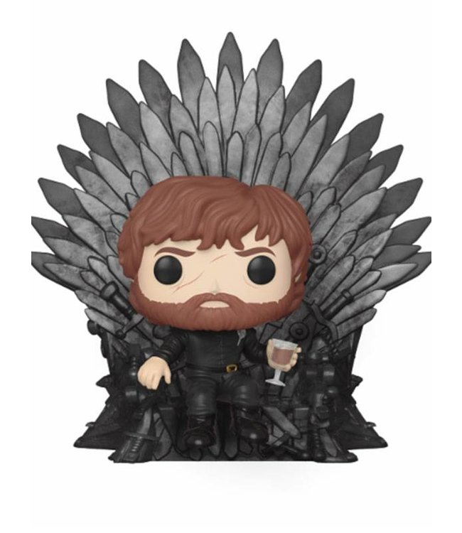 Funko Game of Thrones | Tyrion (Iron Throne) Funko Pop Deluxe Vinyl Figur