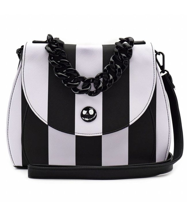 Loungefly Loungefly NBC | Jack Skellington (Streifen) Crossbody Bag