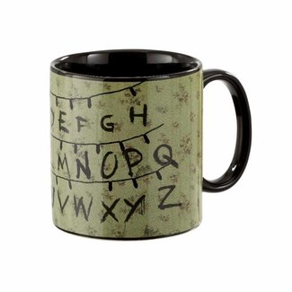 Funko Funko Homeware | Stranger Things Alphabet Tasse (Thermoeffekt)