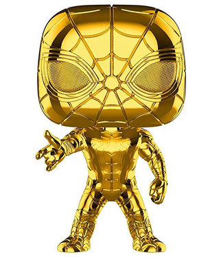 Funko Marvel | Iron Spider (Gold Chrome) Funko Pop Vinyl Figur