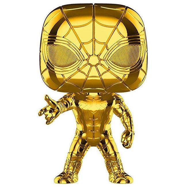 Funko Marvel | Iron Spider (Gold Chrome) Funko Pop Vinyl Figur