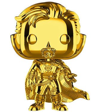 Funko Marvel | Doctor Strange (Gold Chrome) Funko Pop Vinyl Figur