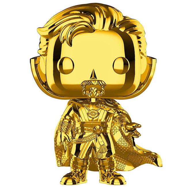 Funko Marvel | Doctor Strange (Gold Chrome) Funko Pop Vinyl Figur