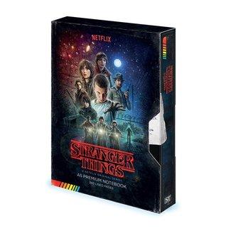 Stranger Things Stranger Things | VHS Premium Notizbuch