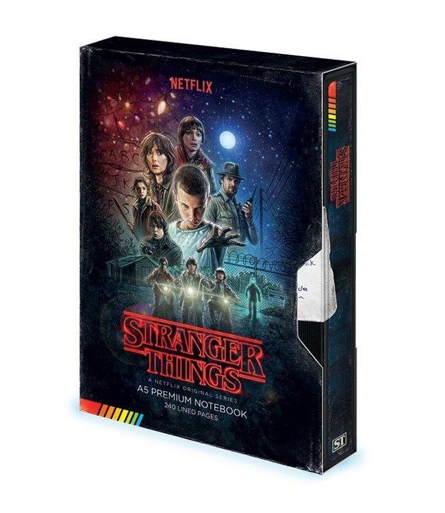 Stranger Things Stranger Things   VHS Premium Notizbuch