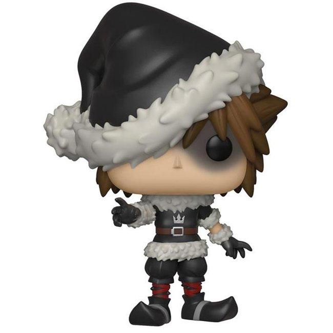 Funko Kingdom Hearts   Christmas Town Sora (Exc) Funko Pop Vinyl Figur