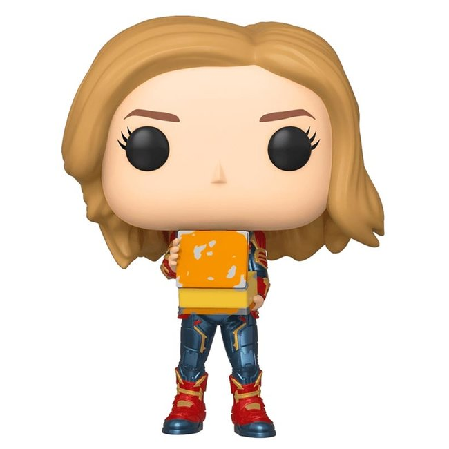 Funko Captain Marvel | Captain Marvel (Tesseract) Funko Pop Vinyl Figur
