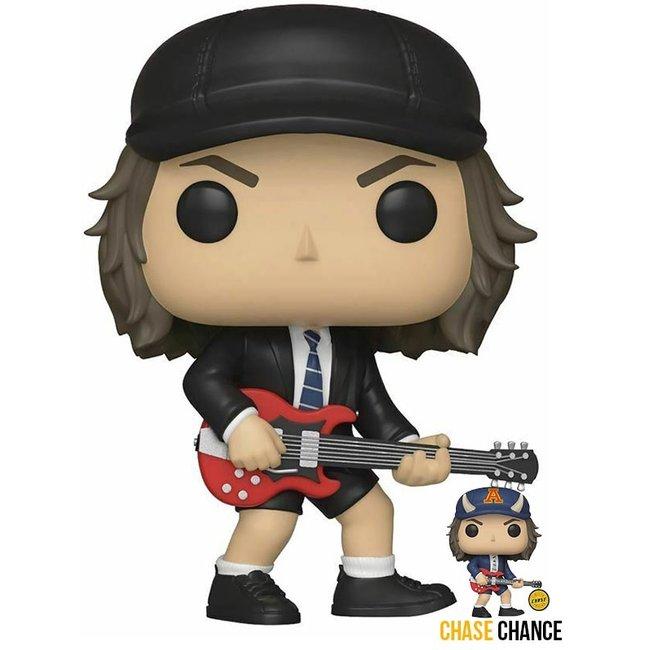 Funko Rocks   Angus Young (AC/DC) Funko Pop Vinyl Figur (Chase Chance)