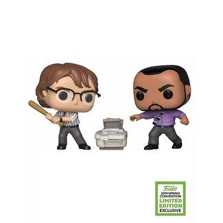 Funko Office Space | Samir and Michael (ECCC Exc) Funko Pop Vinyl Figur (2PK)