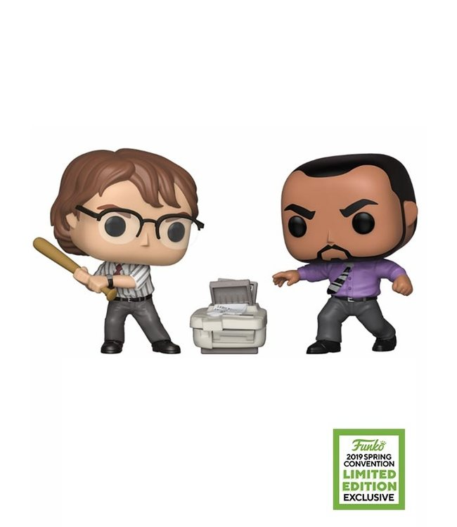 Funko Office Space | Samir and Michael (ECCC Exc) Funko Pop Vinyl Figur (2PK)