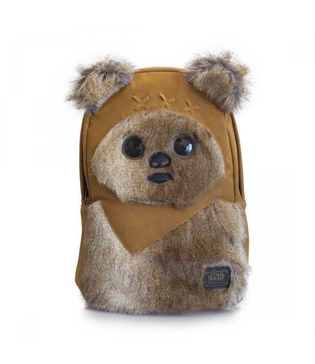 Loungefly Loungefly Star Wars | Ewok (Kunstfell) Rucksack