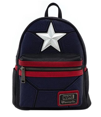 Loungefly Loungefly Marvel | Captain America Mini Rucksack