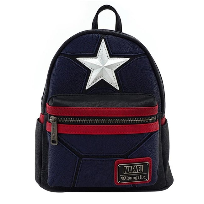 Loungefly Loungefly Marvel | Captain America Mini Rucksack